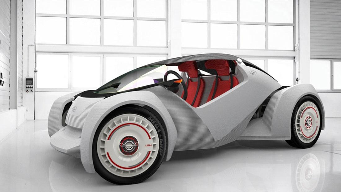 چاپگر سه بعدی خودرو