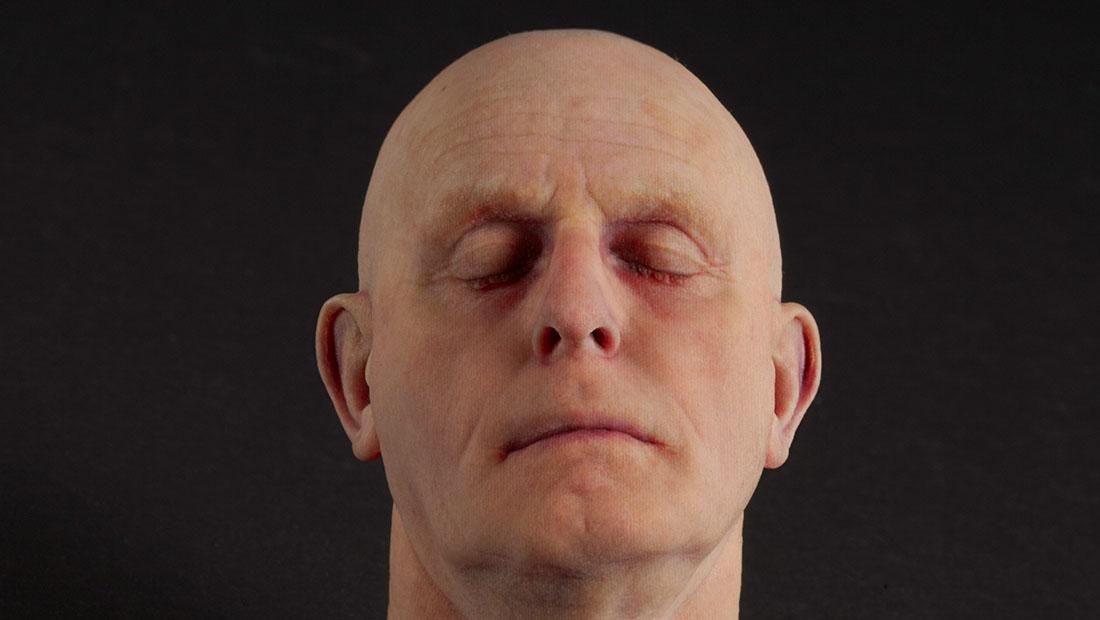 چاپگر چاپ سهبعدی چهره انسان