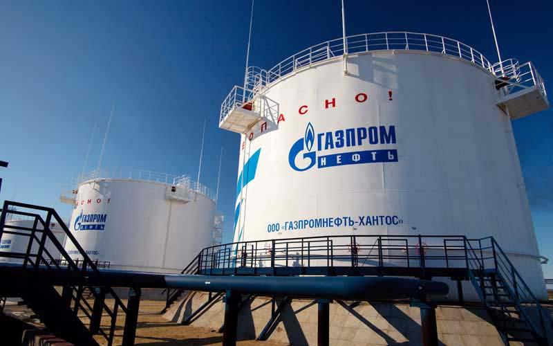 تاخیر در برنامه افزایش تولید نفت گازپروم روسیه