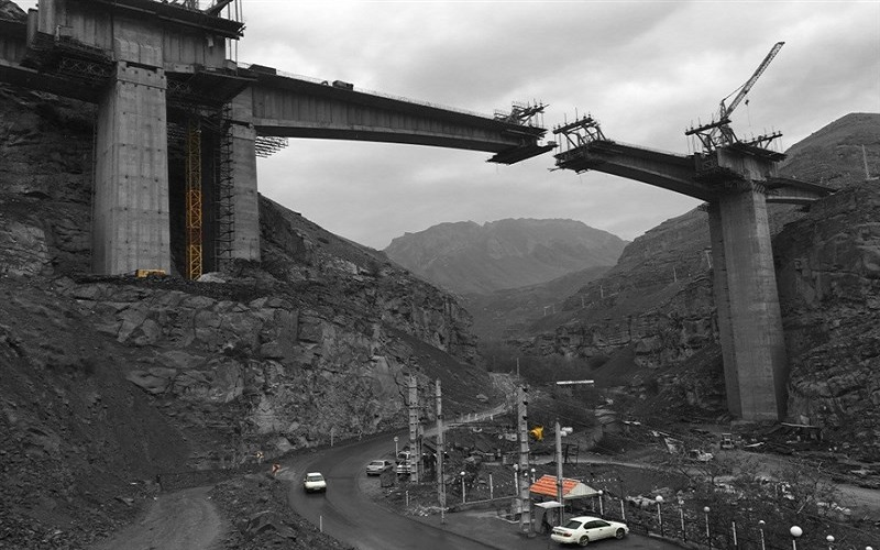 بهرهبرداری از قطعه یک آزادراه تهران-شمال تا پایان تابستان ۹۷