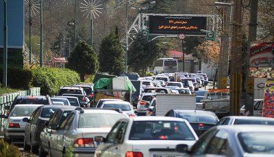 تهران-کرج پرترددترین محور کشور