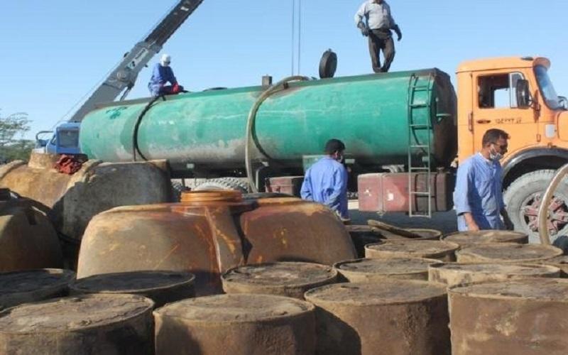 توقیف تانکر حامل ۳۰ هزار لیتر سوخت قاچاق در مهرستان