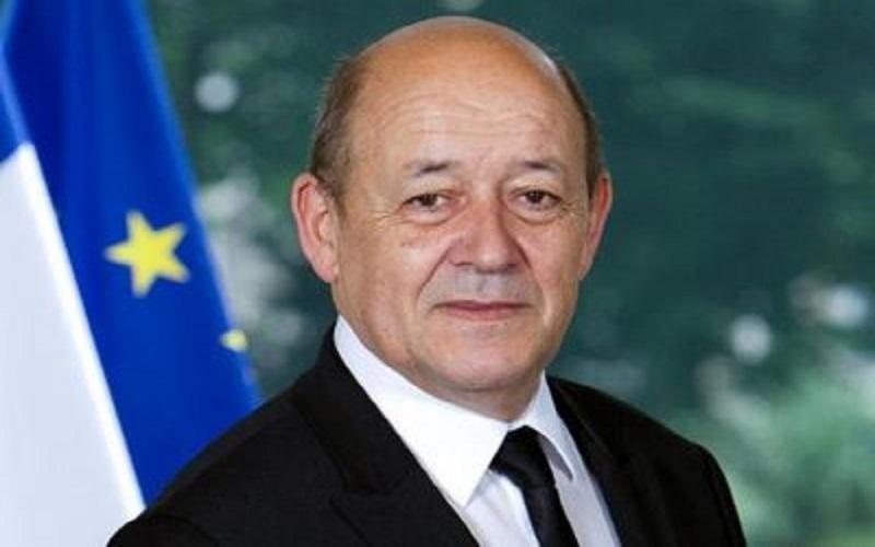 وزیر امور خارجه فرانسه وارد تهران شد