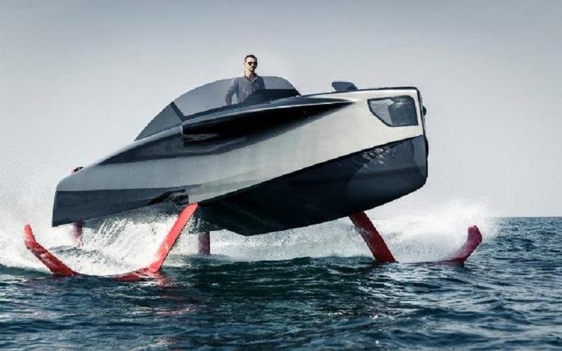 ساخت قایق لوکس با موتور الکتریکی بنزینی