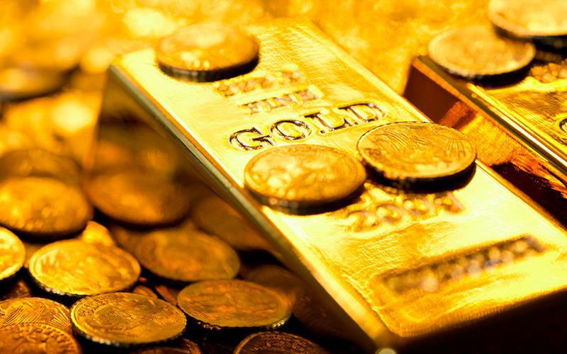 کاهش یک دلاری قیمت طلا در بازارهای جهانی