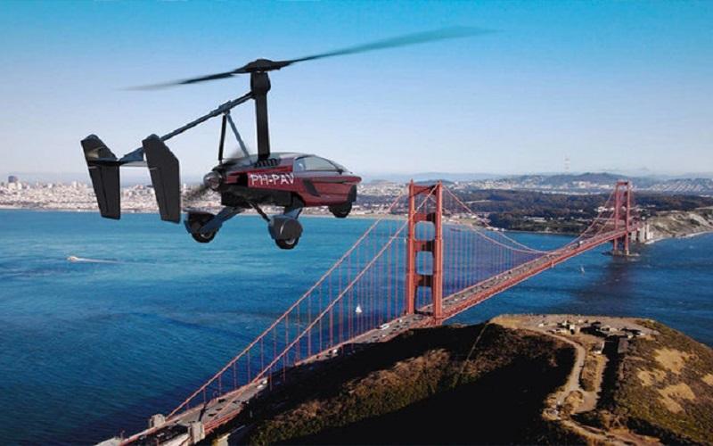 نخستین خودروی پرنده لیبرتی معرفی شد