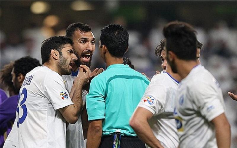 شکایت رسمی باشگاه استقلال از داور بازی العین