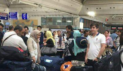 هتلهای آنتالیا مملو از گردشگران ایرانی شد