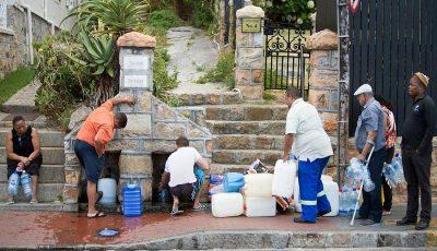 راهکارهای حل «بحران آب» در آفریقای جنوبی