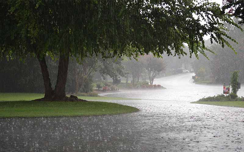 میانگین بارش فقط در 4 استان مثبت است