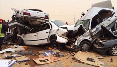 میزان خسارت روزانه حوادث جادهای برای اقتصاد ایران