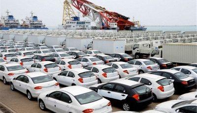 میزان واردات خودرو در سال ۹۶
