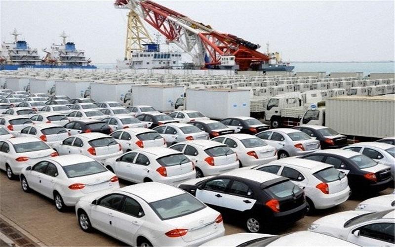 میزان واردات خودرو در سال 96