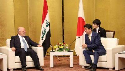 نخستوزیر ژاپن و تبریک پیروزیهای عراق در نبرد با داعش