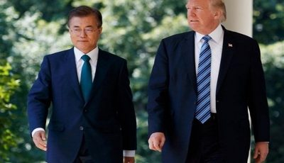رهبران آمریکا و کرهجنوبی اواسط مه دیدار میکنند