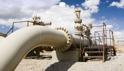 بهرهبرداری از هزار کیلومتر خط لوله انتقال گاز