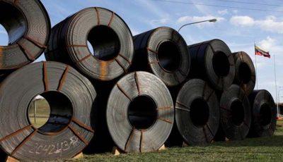 رشد ۱۶ درصدی صادرات فولاد خام در چهارماهه امسال