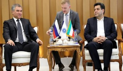 میزان تجارت ایران و روسیه مطلوب نیست