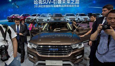 نمایش جدیدترین خودروها در پکن