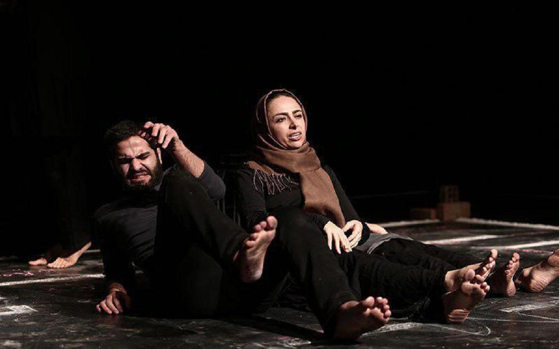 پرستو گلستانی و ابراهیم گله دارزاده نمایش «سانتی متر» را افتتاح می کنند