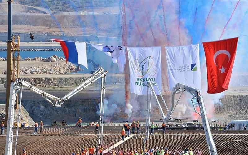 ساخت اولین نیروگاه برق هستهای ترکیه آغاز شد