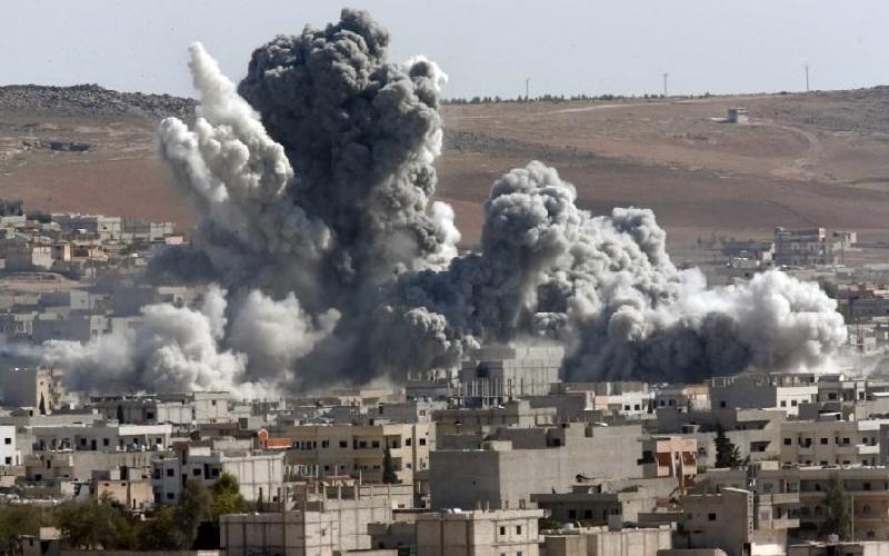 سرنگونی دو پهپاد متجاوز در لاذقیه سوریه