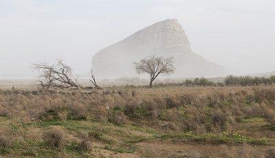 طوفان نمک در دریاچه ارومیه حقیقت ندارد