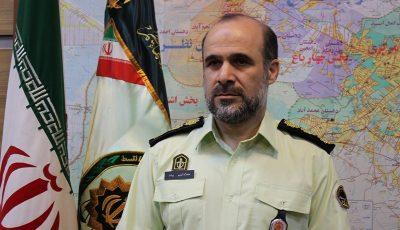 رئیس جدید بازرسی پلیس پایتخت معارفه شد