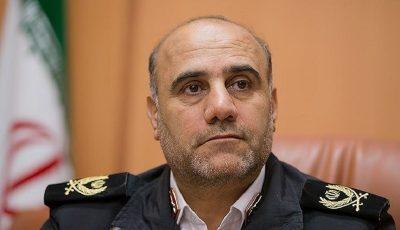 30 درصد جرایم کشور در تهران رخ میدهد