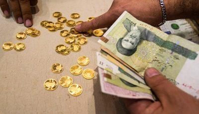 قیمت سکه به ۴ میلیون و ۱۶۵ هزار تومان رسید
