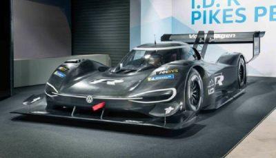 فولکس واگن از خودروی الکتریکی مسابقه رونمایی کرد