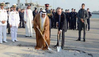 افتتاح پایگاه نظامی دائمی انگلیس در بحرین