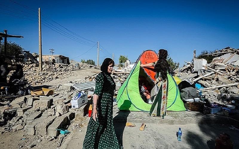 انتقاد از گزارشهای دستگاههای دولتی درباره زنان مناطق زلزلهزده