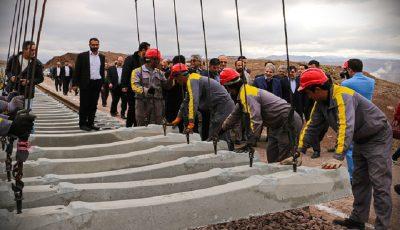 ۱۰ روز تا پایان ساخت راهآهن قزوین-رشت