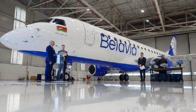 ورود هواپیماهای جدید به ناوگان بلاروس