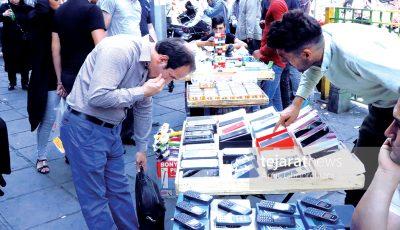 روایت تصویری از بازار موبایل در روزهای «رجیستری»