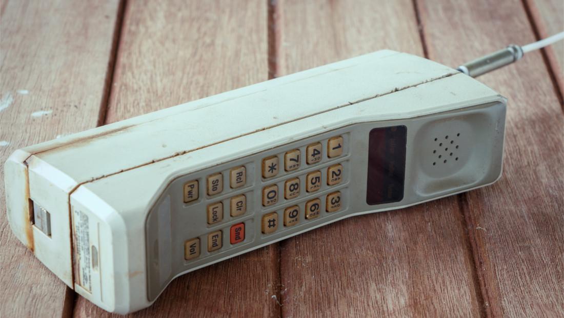 5G نسل پنجم شبکه موبایل موتورولا اولین تلفن همراه DynaTAC 8000X