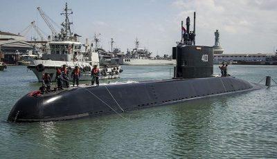اندونزی دومین زیردریایی ساخت کره جنوبی را دریافت کرد