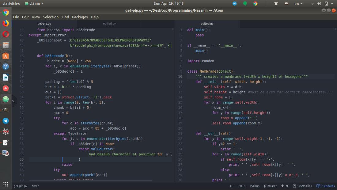 الگوتریدینگ پایتون برنامهنویسی Ubuntu 17.10 Programming Python