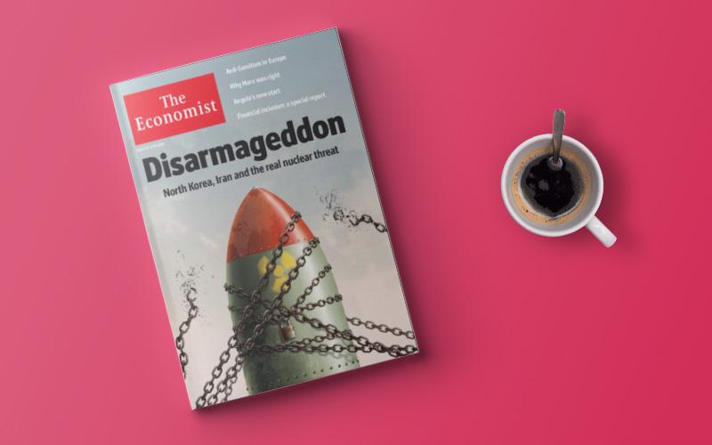 نگرانی اکونومیست از آغاز مسابقه تسلیحاتی در جهان