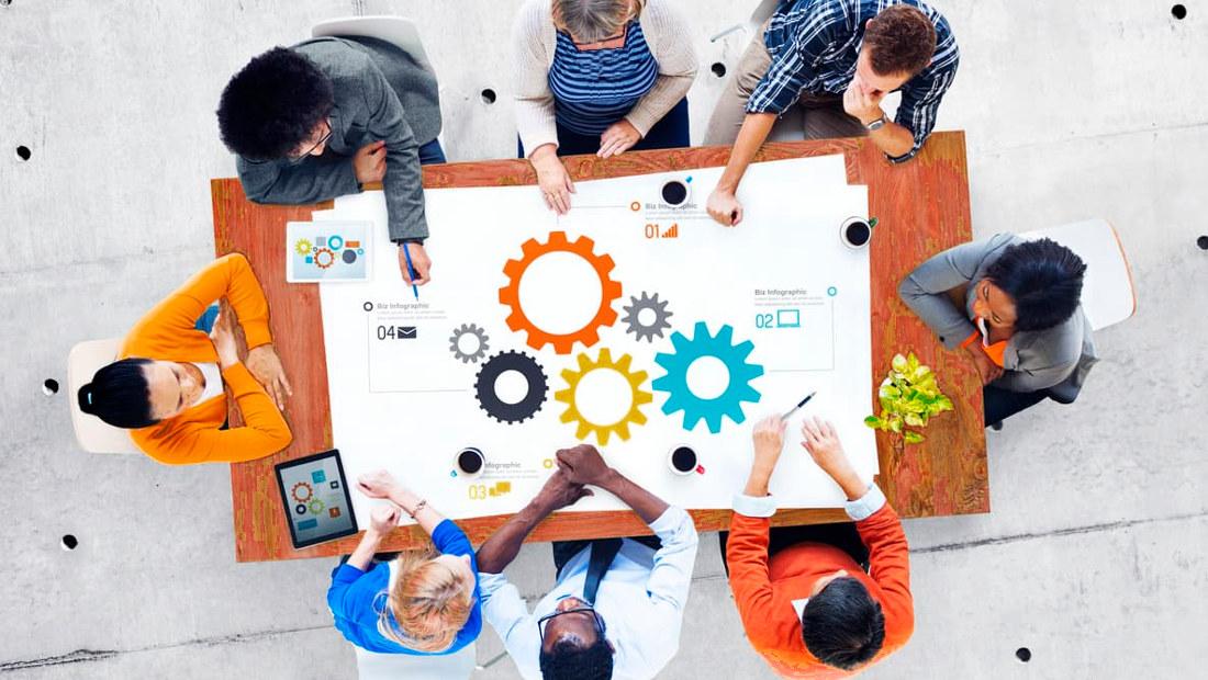 مدیریت مدرن تیم کاری
