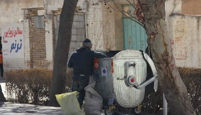 ازدیاد زبالهگردها در تهران