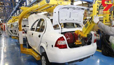 سایپا همچنان در مقام نخست تولید خودرو در ایران