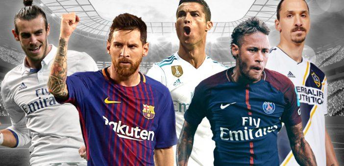 فوتبالیستهای جهان چه میزان درآمد از تبلیغات دارند؟