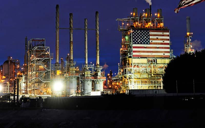 صادرات نفت آمریکا یک رکورد دیگر زد