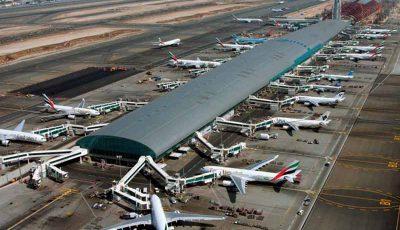 حجم پروازها در فرودگاه دوبی کاهش یافت
