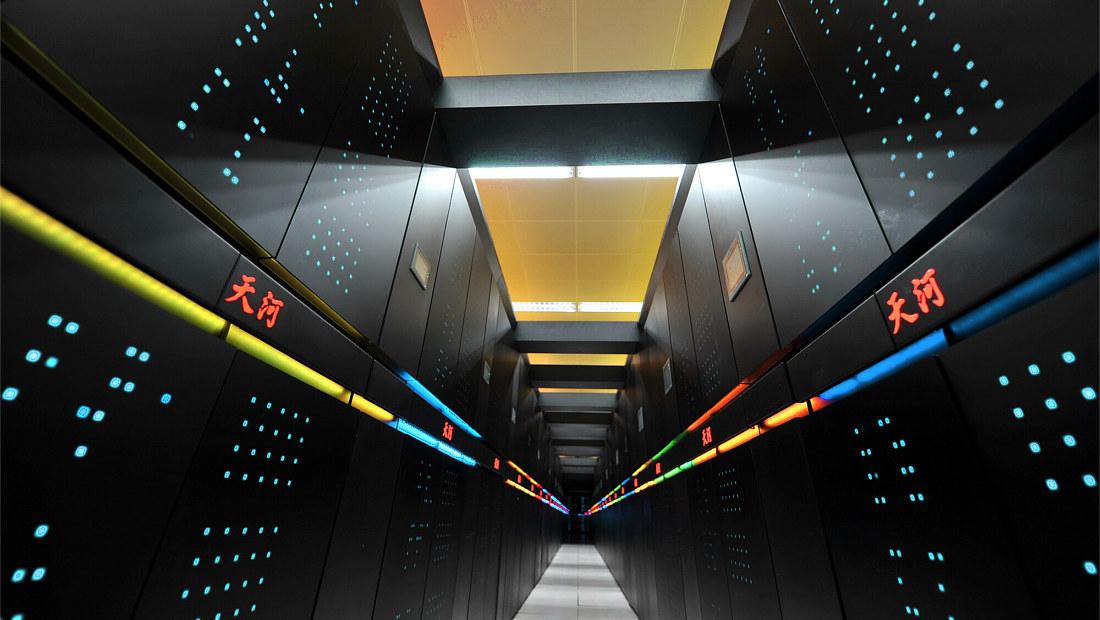 لینوکس اوبونتو ابرکامپیوتر تیانی ۲ Tianhe 2