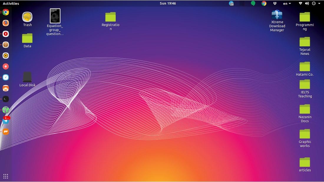 لینوکس اوبونتو نسخه 18.04