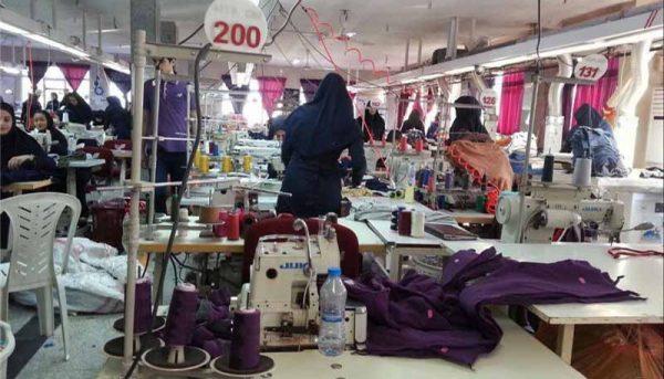 تعطیلی ۷۰ درصد تولیدکنندگان پوشاک