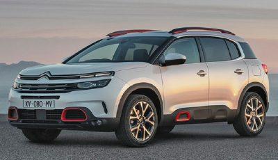 رونمایی از جدیدترین خودروی کراساور سیتروئن